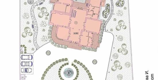 План благоустройства_Rezidenciya_Kipr